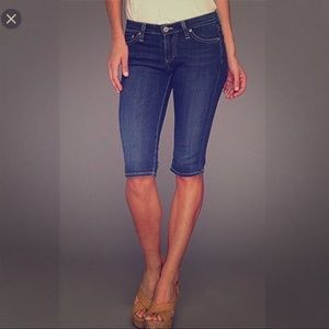 AG Jeans 'Malibu' Skinny Bermuda Shorts size 29
